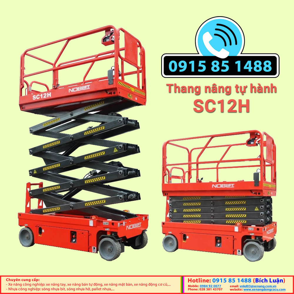 Thang nâng điện tự hành SC12H