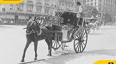 Xe ngựa kéo hackney_lich su xe taxi dau tien