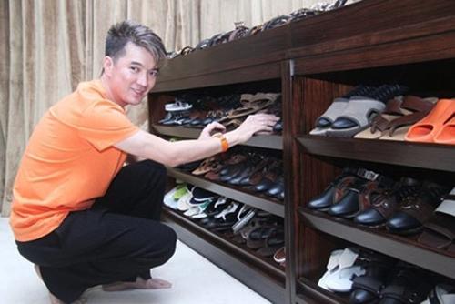Nơi để giày rộng rãi của Mr Đàm