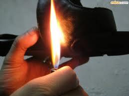 Dùng lửa để thử