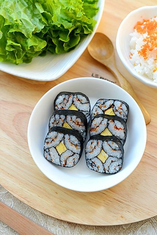 Cách làm sushi tại nhà cực ngon