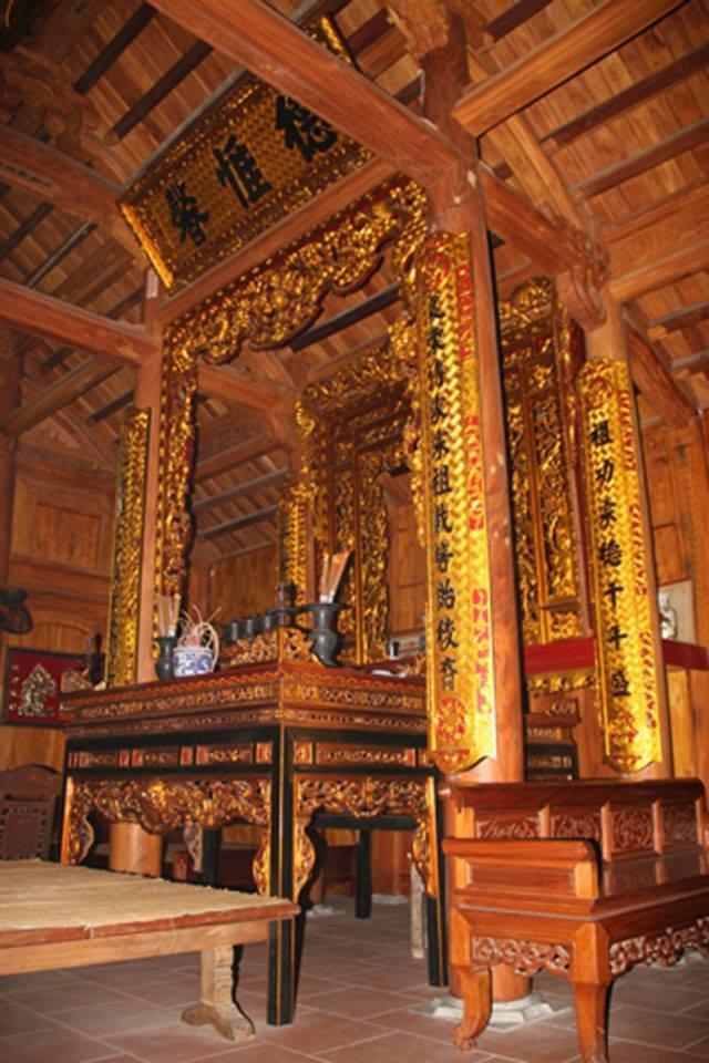 đồ thờ gỗ mít