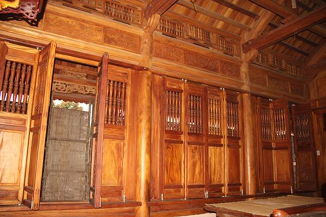 nhà gỗ mít đẹp