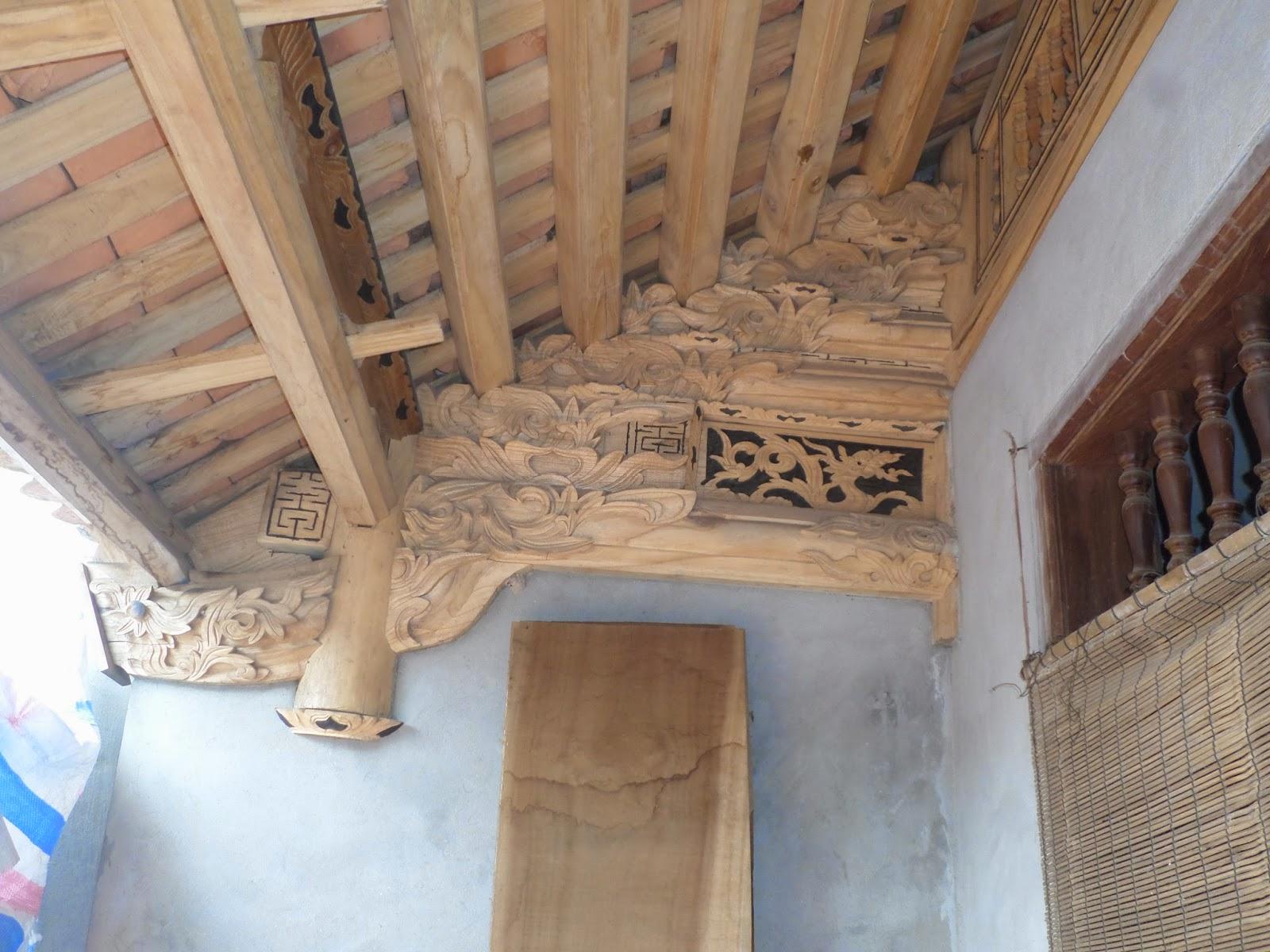 nhà gỗ việt nam