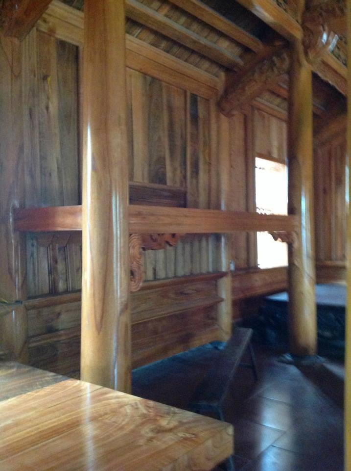 nhà gỗ xoan