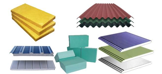 Có rất nhiều vật liệu cách nhiệt thông dụng