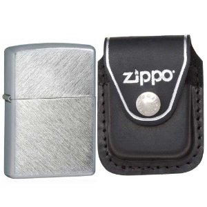 Zippo Herringbone Sweep Brushed Chrome