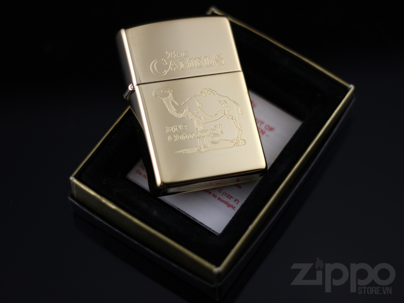 zippo gold plated 22k