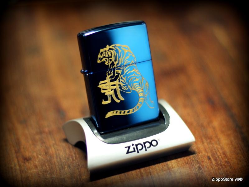 Zippo Khắc Hổ