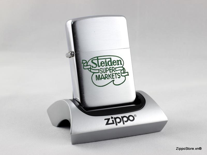 Zippo Cổ 3 Hàng Chữ