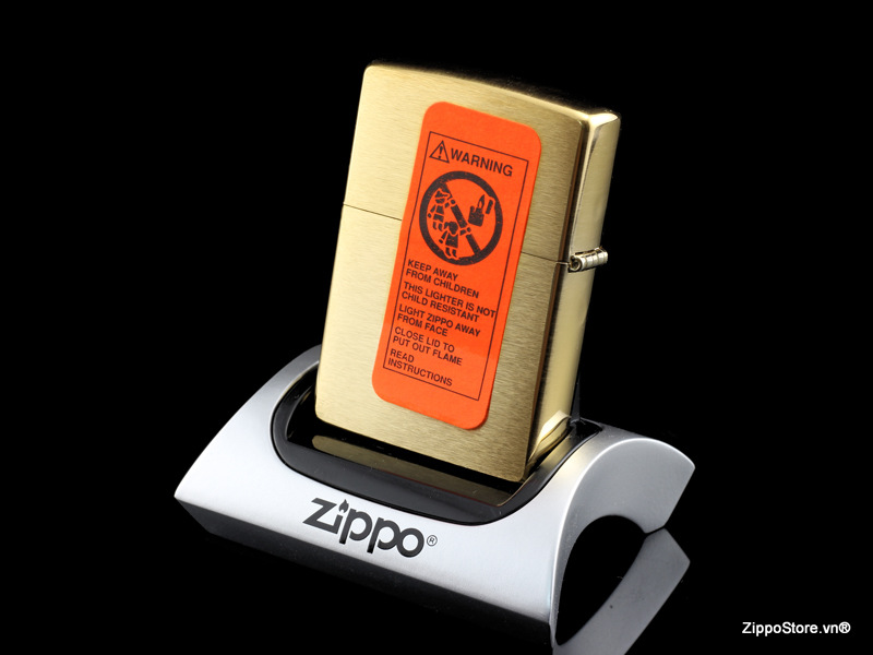 how to clean a solid brass zippo
