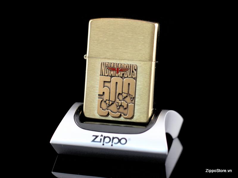 Zippo La Ma Solid Brass 1994 Indianapolis 500