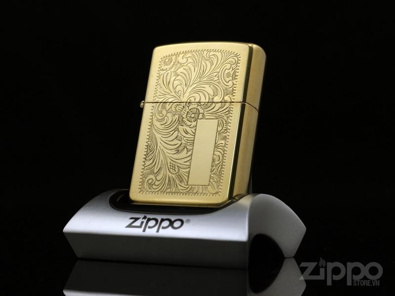 zippo venetian brass 1992 viii