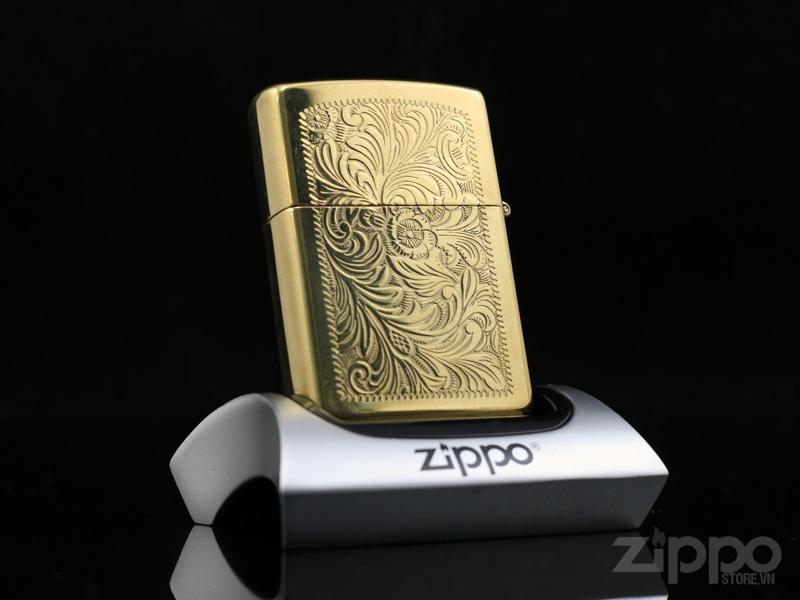 zippo hoa van y venetian brass 1992