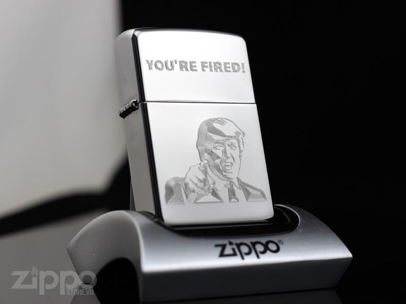zippo hinh tong thong my donald trump