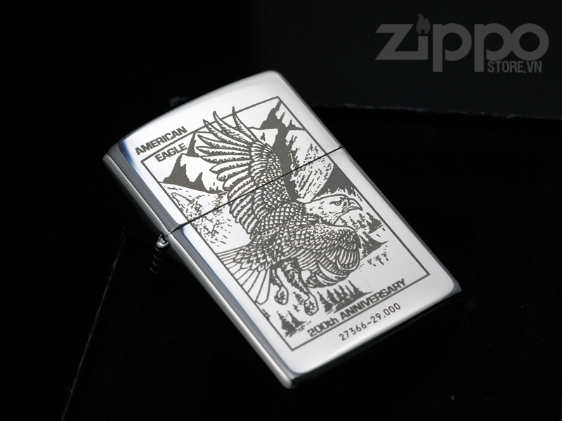 Zippo american eagle 200th anniversary limited laser