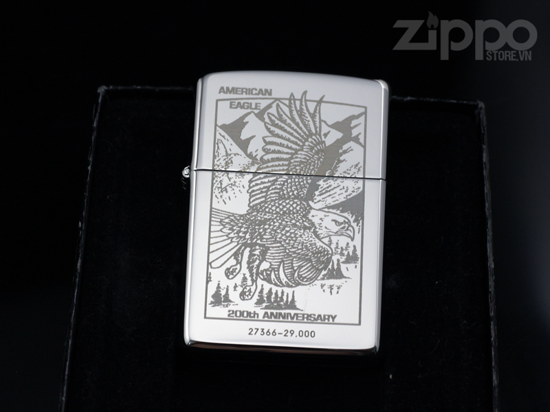 zippo american eagle 200th 29000 limited edtion