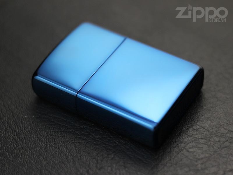 bat lua zippo mau xanh duong