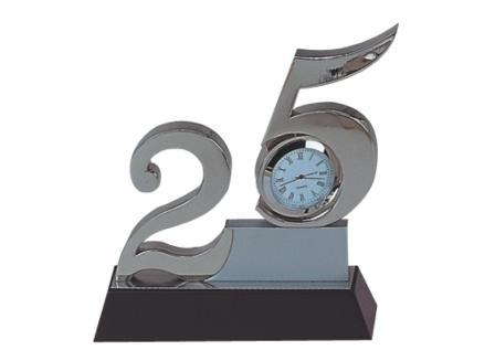 Bộ số kỷ niệm bằng pha lê 25 năm