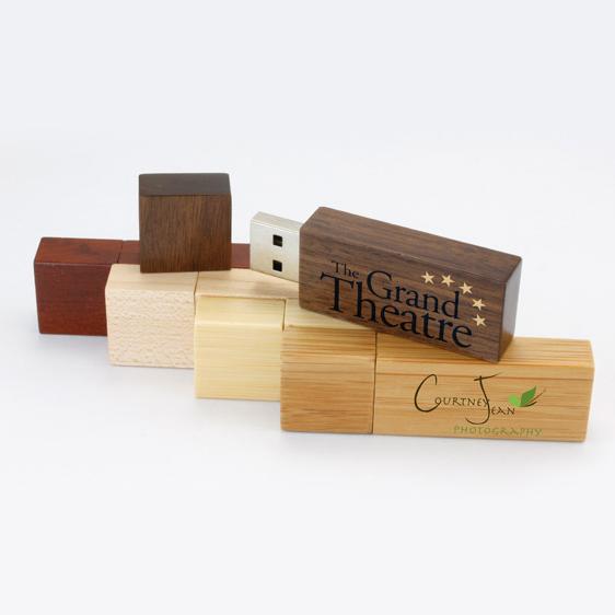 USB vỏ gỗ giá rẻ 01