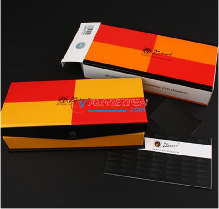Vỏ hộp bút cao cấp Picasso Pimio 608F (WH)
