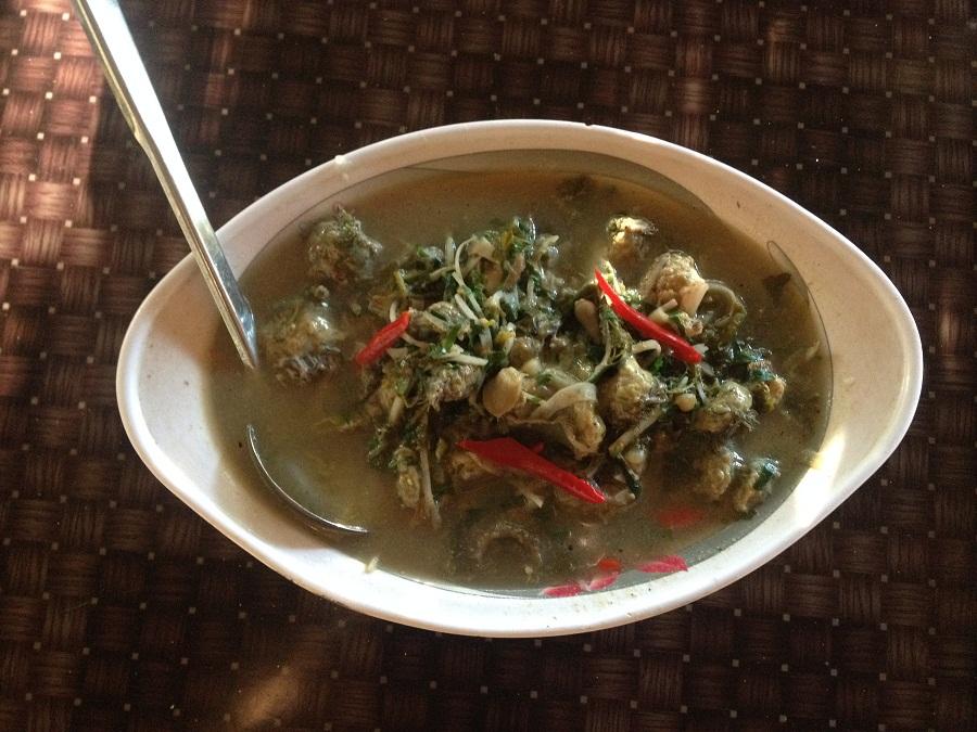 Soup Sâm biển