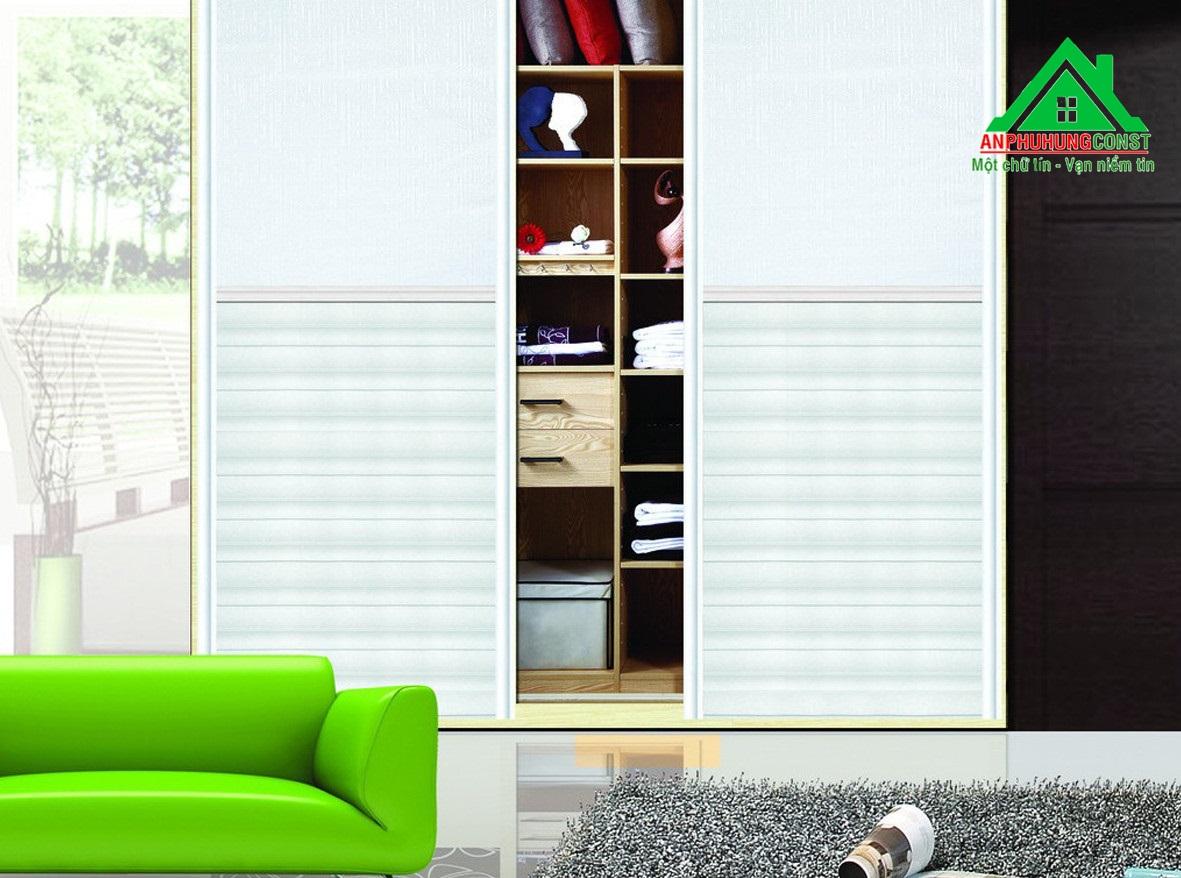 Lưu trữ hiệu quả với tủ quần áo lớn