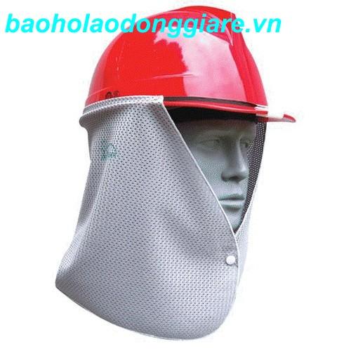 Vành mũ che nắng lưới màu ghi -Hàn Quốc