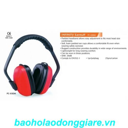 Chụp tai giảm ồn 29dB