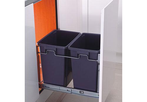 thùng rác đôi gecko ge 006b