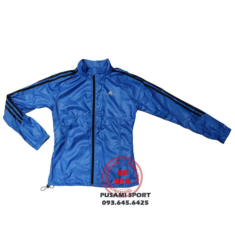 Áo khoác Adidas gió nữ