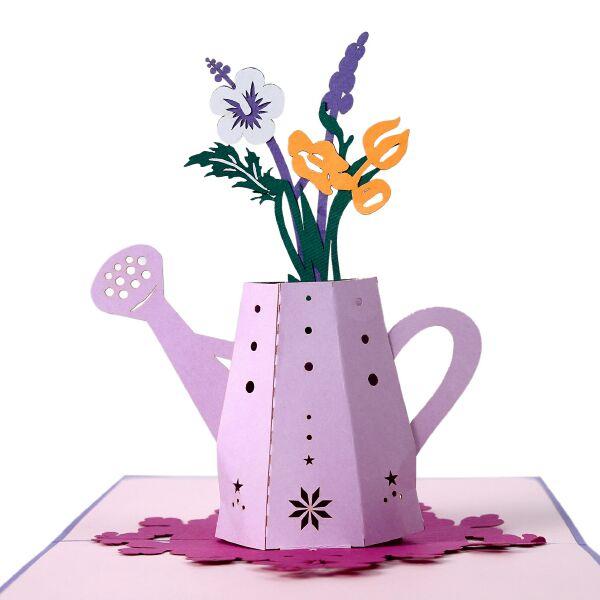Thiệp nổi các loại hoa