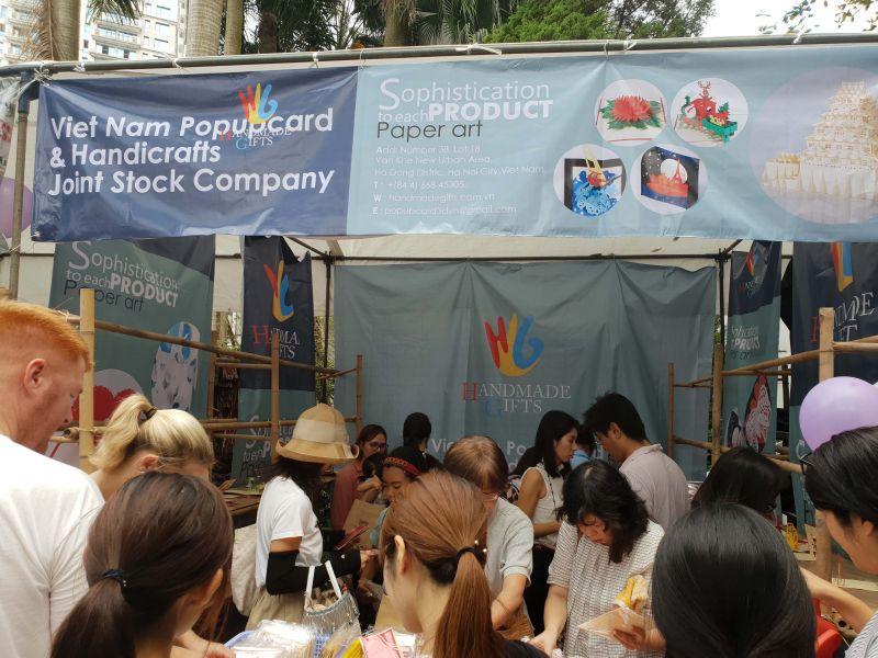 Vietnam popup card