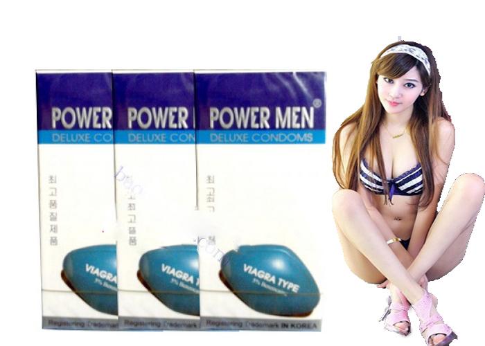 Bao cao su Powermen Viagra 12 chiếc - P02