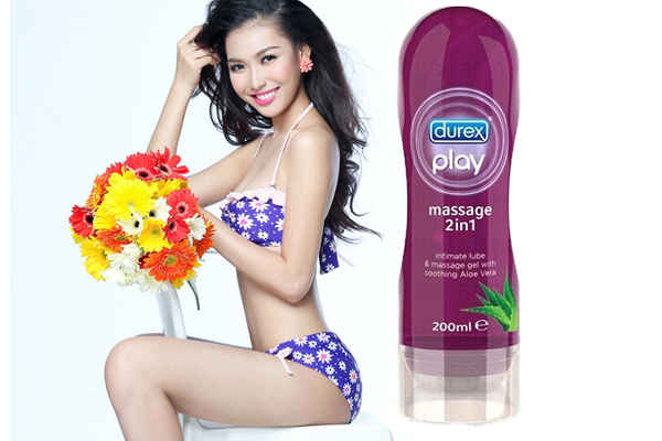 Gel bôi trơn Play Massage -Durex-DR04