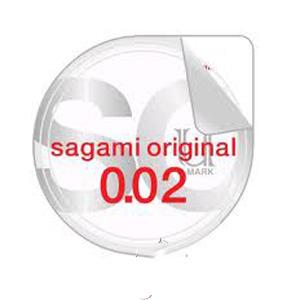 Bao cao su Sagami Original 0,02 hộp 2 chiếc