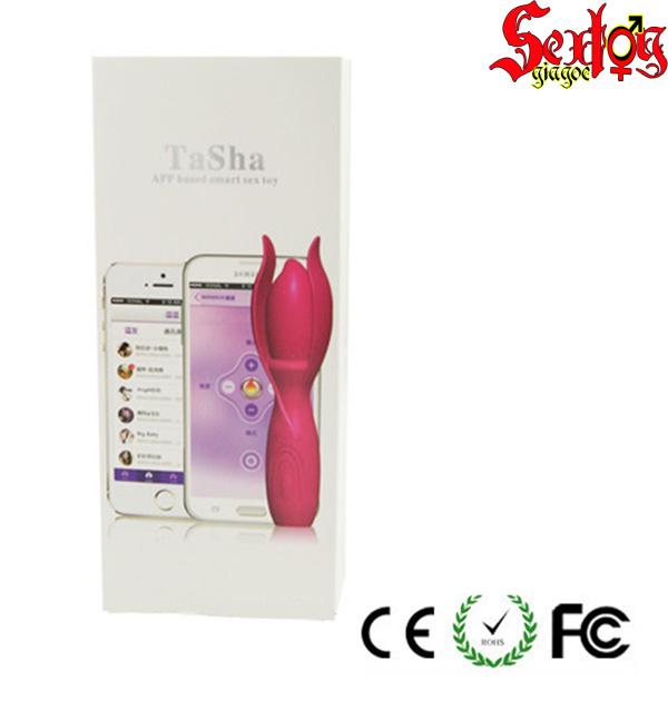 Massage điểm G điều khiển bằng Bluetooth-Tasha