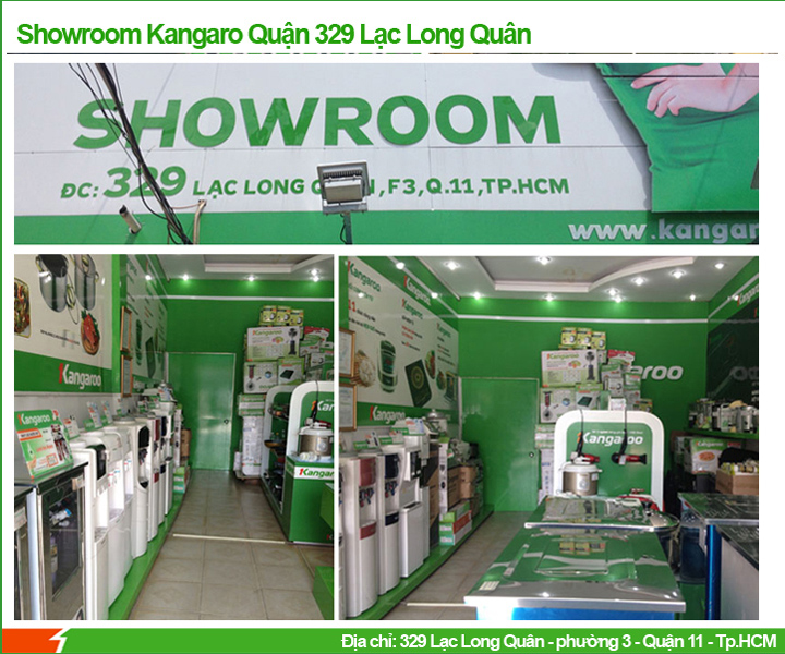 Showroom Kangaroo Lạc Long Quân