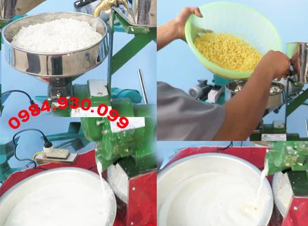 máy xay gạo nước
