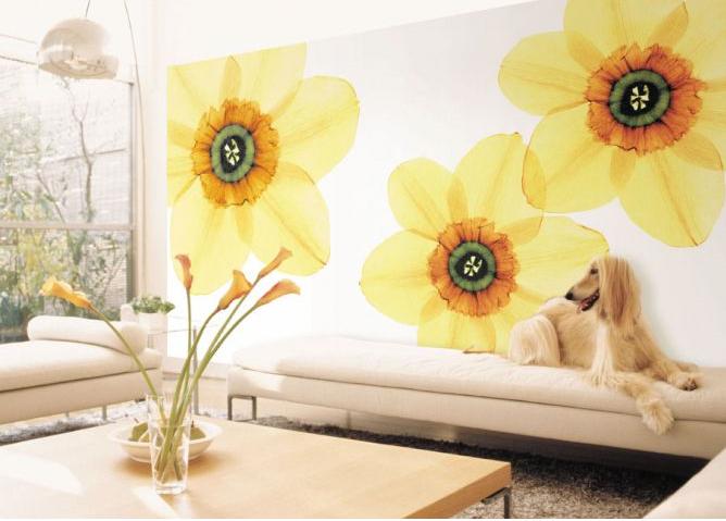Phối màu giấy dán tường cho nội thất ngôi nhà