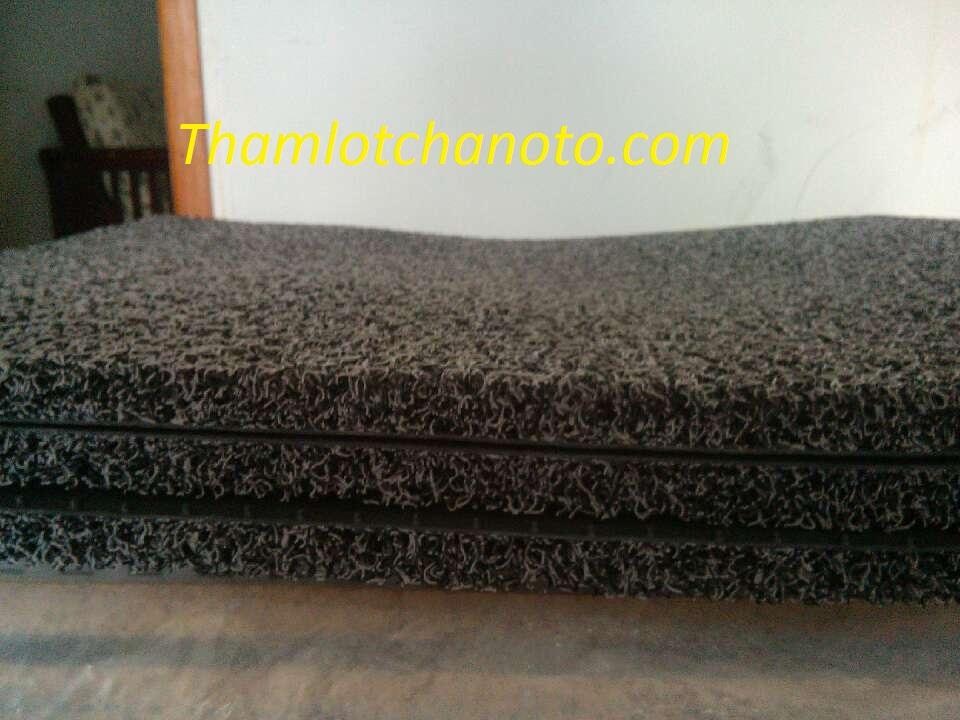 Sợi thảm lót chân ô tô cao su sợi