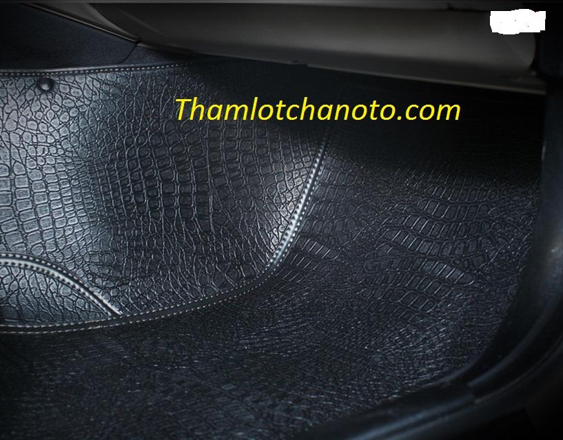 thảm lót sàn ô tô giả da cá sấu phụ lái