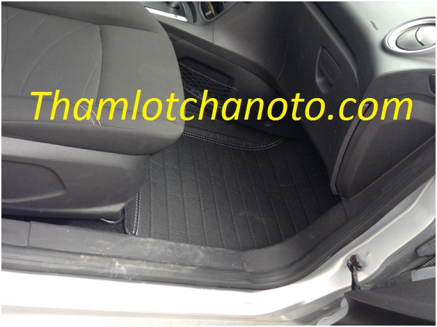 Thảm lót chân ô tô / thảm lót sàn ô tô ghế phụ lái Ford Fiesta