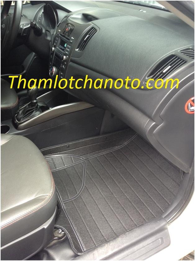 Thảm lót chân ô tô/ Thảm lót sàn ô tô ghế phụ lại KIA FORTE