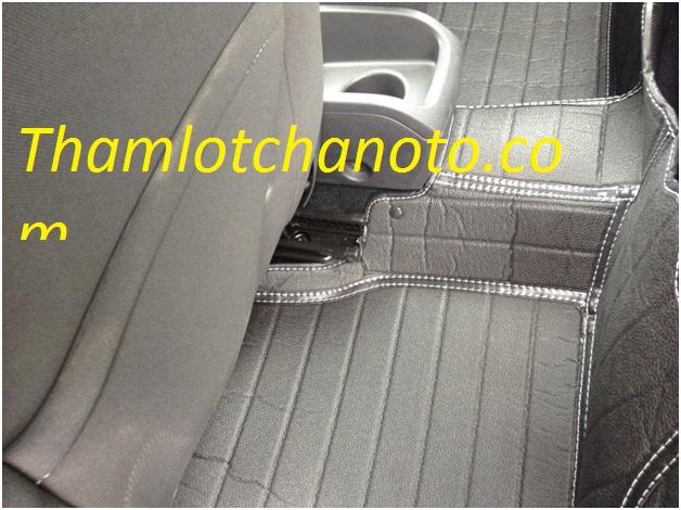 Thảm lót chân ô tô / thảm lót sàn ô tô ghế sau Ford Fiesta