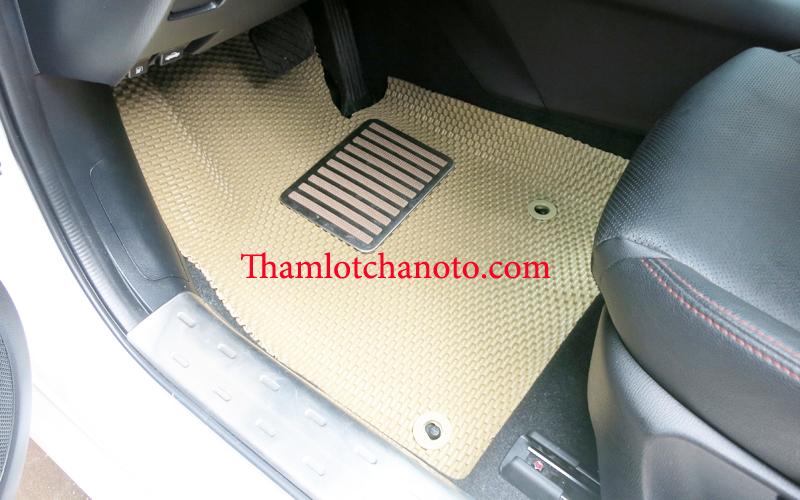 đế chống mòn thảm lót sàn ô tô cho xe Mazda 3S model 2015