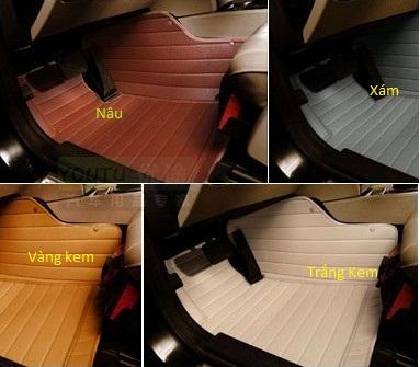 thảm sàn lót chân ô tô 5D