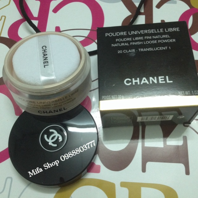 Phấn phủ chanel dạng bột POUDRE UNIVERSELLE LIBRE