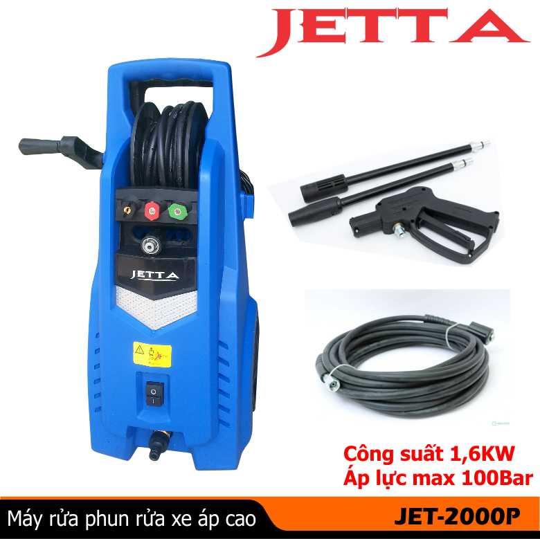 máy rửa xe mini JET1900P, máy rửa xe gia đình JETTA