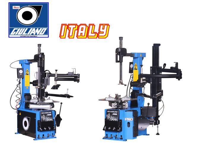 Máy ra vào lốp tự động italy, máy làm lốp italy, máy tháo vỏ tự động Italy
